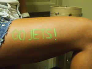 Jets Daytime UV Tatoo