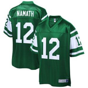Joe Namath New York Jets NFL Pro Line Retired Player Replica Jersey