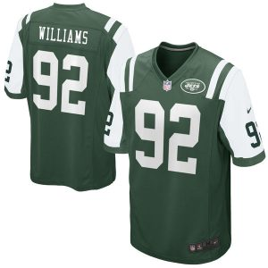Leonard Williams Men's Nike Green New York Jets Game Jersey