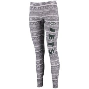 New York Jets Concepts Sport Women's Comeback Tribal Print Leggings
