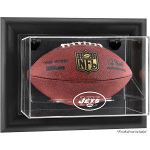 New York Jets Fanatics Authentic Black Framed Wall-Mountable Football Display Case