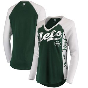 New York Jets Hands High Women's Stadium Long Sleeve T-Shirt