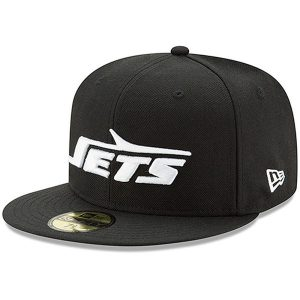 New York Jets New Era Classic Logo Omaha 59FIFTY Fitted Hat