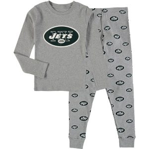 New York Jets Preschool Long Sleeve T-Shirt & Pants Sleep Set