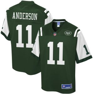 Robby Anderson New York Jets NFL Pro Line Player Jersey