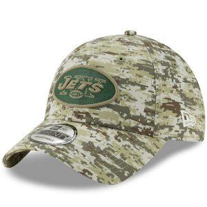 Men's New York Jets New Era Camo Digi 9TWENTY Adjustable Hat