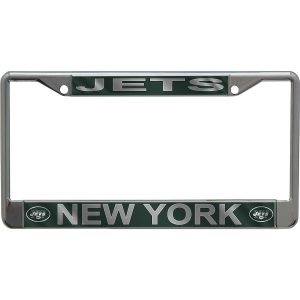 New York Jets Metallic License Plate Frame