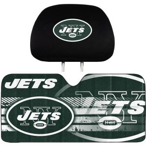 New York Jets Primary Logo Interior Auto Kit