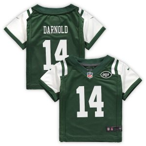 Infant New York Jets Sam Darnold Nike Green Game Jersey