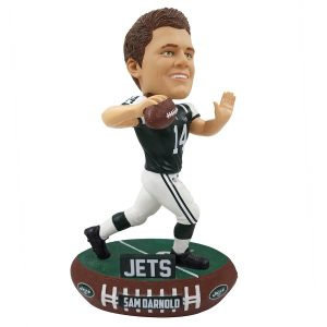 New York Jets Sam Darnold Baller Player Bobblehead
