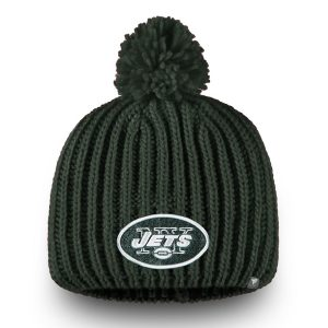 Women's New York Jets NFL Pro Line by Fanatics Branded Green Iconic Ace Knit Beanie