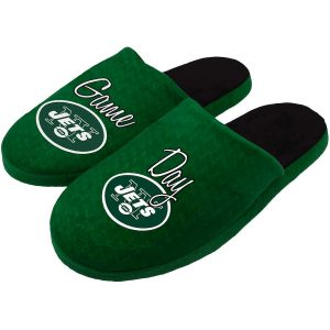 Women's New York Jets Slogan Slippers