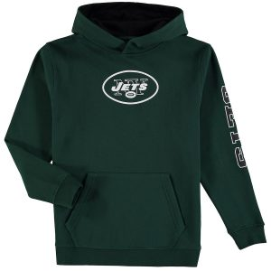 Youth New York Jets NFL Pro Line by Fanatics Branded Green/Black Zone Pullover Hoodie