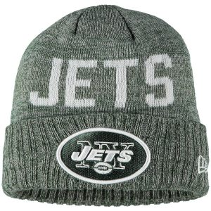 Youth New York Jets New Era Green Crisp Color Knit Cuffed Hat