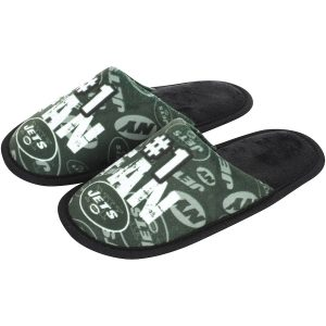 Youth New York Jets Scuff Slide Slippers