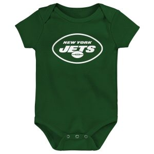 New York Jets Newborn Primary Team Logo Bodysuit – Green