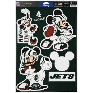 New York Jets WinCraft 11″ x 17″ Multi-Use Disney Decals