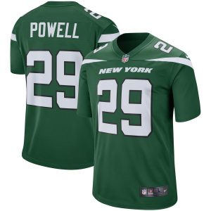 Bilal Powell New York Jets Nike Player Game Jersey – Green