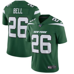 Le'Veon Bell New York Jets Nike NFL 100 Vapor Limited Jersey – Green