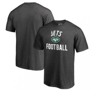 Men's New York Jets Charcoal Team Pride T-Shirt