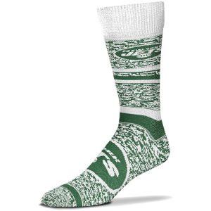 New York Jets For Bare Feet Women's Game Time Crew Socks