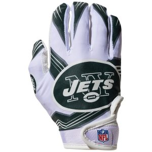 New York Jets Franklin Sports Youth Receiver Gloves