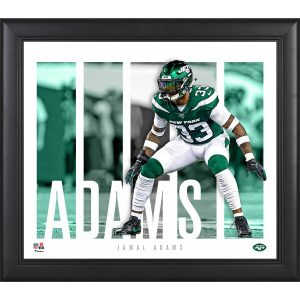 New York Jets Jamal Adams Fanatics Authentic Framed 15″ x 17″ Player Panel Collage