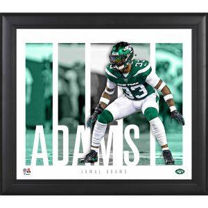 New York Jets Jamal Adams Fanatics Authentic Framed 15″ x 17″ Player Panel Collage