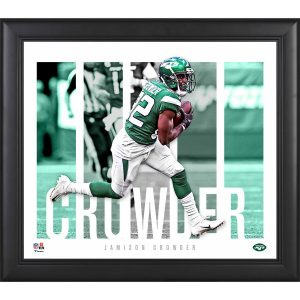 New York Jets Jamison Crowder Fanatics Authentic Framed 15″ x 17″ Player Panel Collage