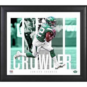 New York Jets Jamison Crowder Fanatics Authentic Framed 15″ x 17″ Player Panel Collage