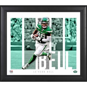 New York Jets Le'Veon Bell Fanatics Authentic Framed 15″ x 17″ Player Panel Collage