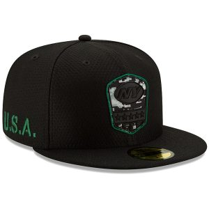 New York Jets New Era 2019 Salute to Service 59FIFTY Fitted Hat – Black