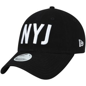 New York Jets New Era Women's Team Hometown 9TWENTY Adjustable Hat – Black
