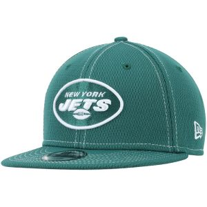 New York Jets New Era Youth Sideline Road 9FIFTY Adjustable Hat – Green