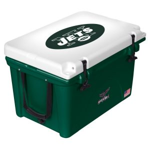 New York Jets ORCA Green/White 40-Quart Hard-Sided Cooler