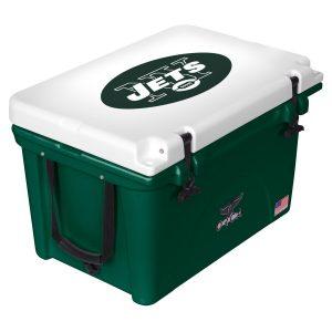 New York Jets ORCA Green/White 40-Quart Hard-Sided Cooler