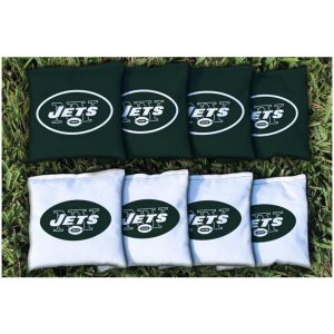 New York Jets Replacement Corn-Filled Cornhole Bag Set