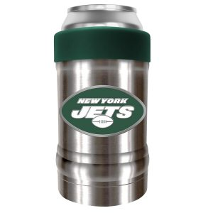 New York Jets Silver/Green The Locker 12oz. Can Holder