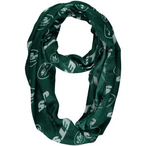 New York Jets Team Logo Infinity Scarf