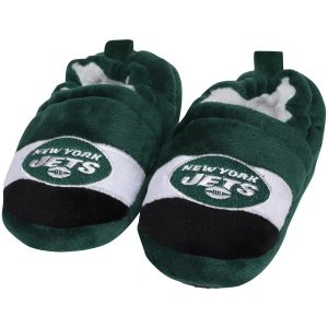 New York Jets Toddler Color Block Close Back Slippers