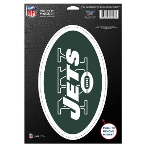 New York Jets WinCraft 6″ x 9″ Car Magnet