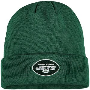 New York Jets Youth Basic Cuffed Knit Hat – Green