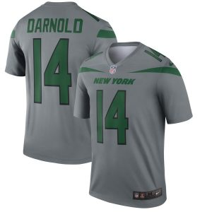 Sam Darnold New York Jets Nike Inverted Legend Jersey – Gray
