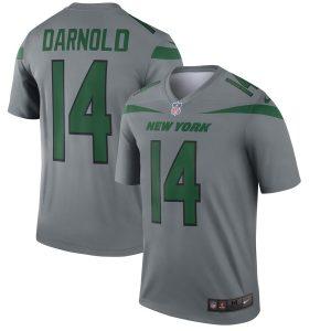 Sam Darnold New York Jets Nike Inverted Legend Jersey – Gray