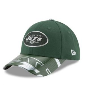 New York Jets New Era Women's 2017 NFL Draft On Stage 9FORTY Adjustable Hat – Green