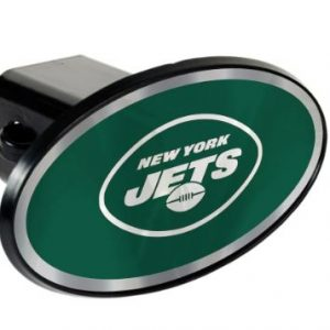 New York Jets Oval Car Hitch Cover